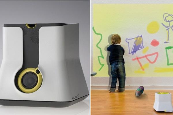 KLEXL - концептуальная интерактивная игрушка от Dario Jandrijic