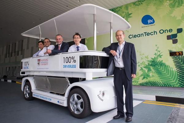 Induct – первое такси без водителя в Сингапуре