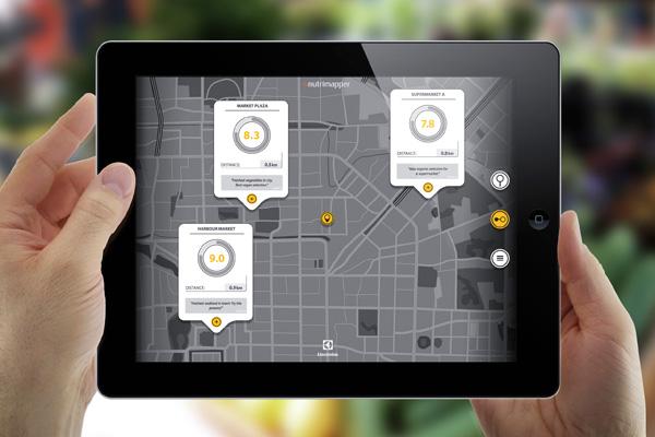 Приложение Nutrimapper для смартфонов и планшетов