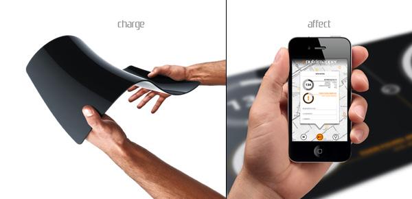 Nutrima заряжается с помощью сгибания и разгибания устройства