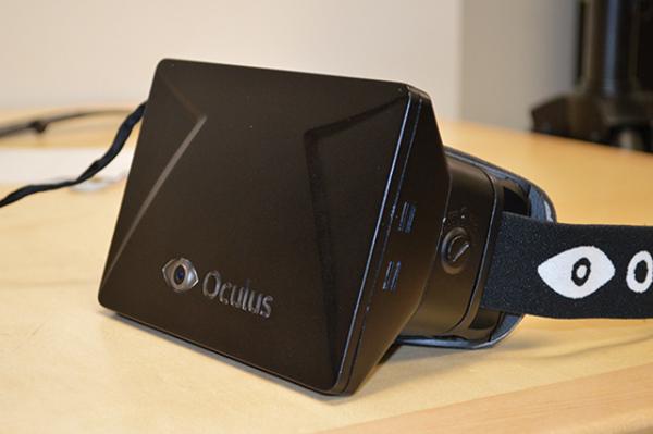 Действующий прототип очков Oculus Rift