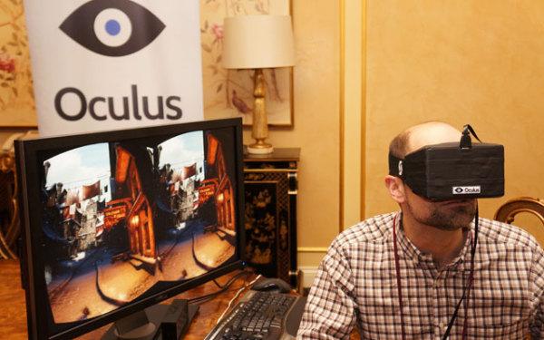 Прототип Oculus Rift на CES 2013