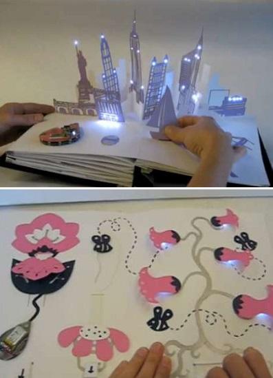Electronic Popables - интерактивные книжки, развивающие воображение