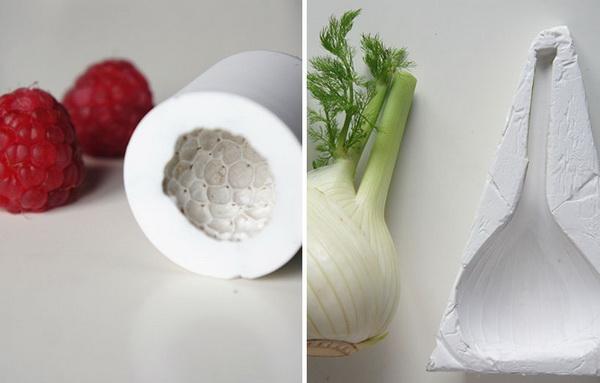 одноразовая посуда в виде овощей