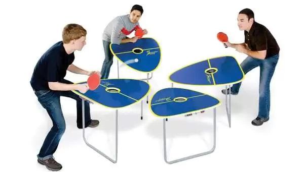 Quad Table Tennis Game - дизайнерский теннисный столик на четырех игроков
