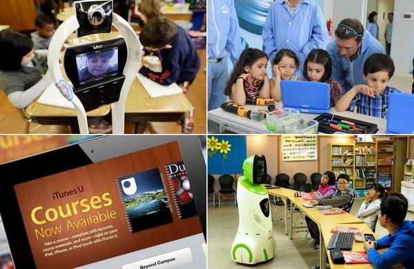 Самые необычные и наглядные примеры использования современных технологий в обучении