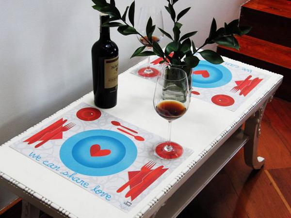 подставка для романтического ужина