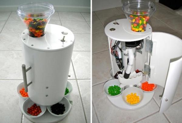 Candy Sorting Machine  - сортируем конфеты по цветам