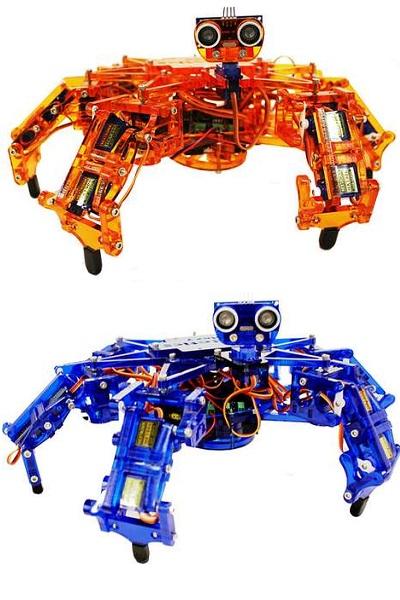 Тренировочный робот-насекомое ArcBotic 'Hexy' от Joseph Schlesinger