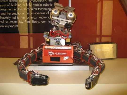 Roomba - робот-пылесос в виде насекомого от iRobot