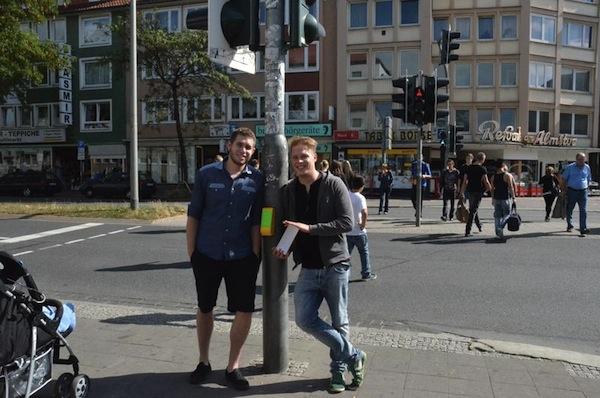Авторы идеи и изобретатели Sandro Engel и Holger Michel
