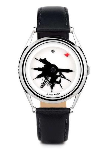 Минималистичные дизайнерские часы All Around The World от Mr. Jones