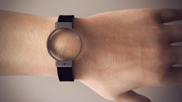 Analog Watch - концепт минималистичных наручных часов от Roderick