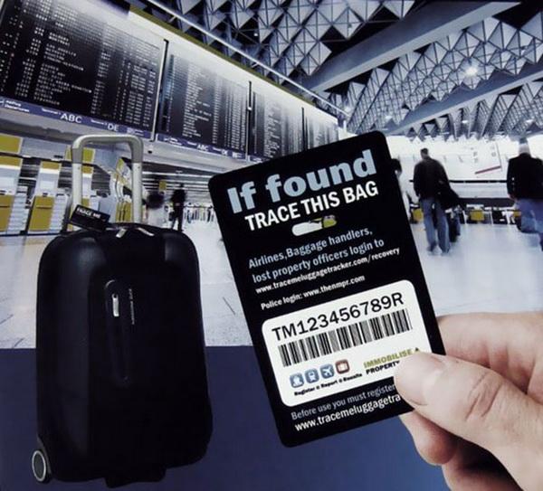 багажная бирка Tracker