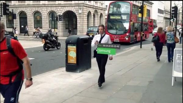 «Умные» мусорные урны в Лондоне следят за людьми