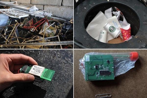 Проект Trash ¦ Track Лаборатории жизнеустойчивого города МИТ (MIT Senseable City Lab)