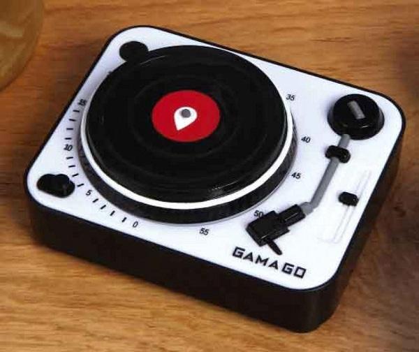 'Музыкальный' кухонный таймер Turntable Kitchen Timer от Gama-go