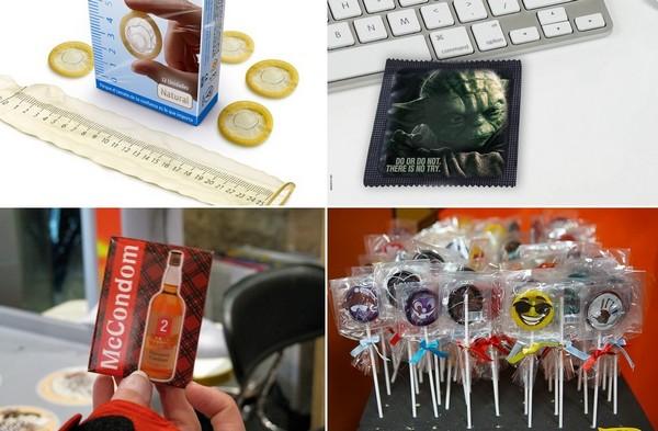 Самые необычные в мире презервативы