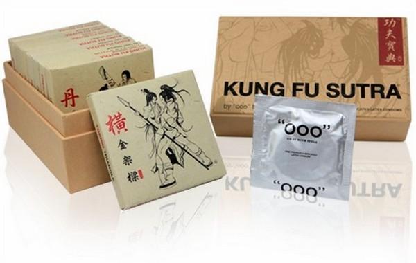 Kung Fu Sutra – презервативы в стиле кун-фу