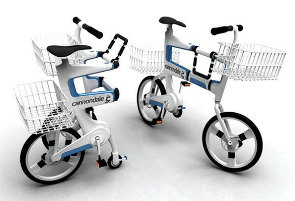 Велосипед-коляска для шоппинга Ville