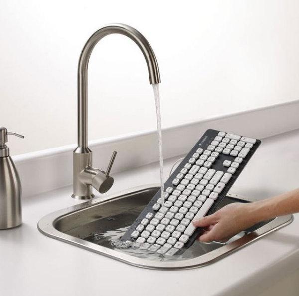 Моющаяся клавиатура для трудоголиков
