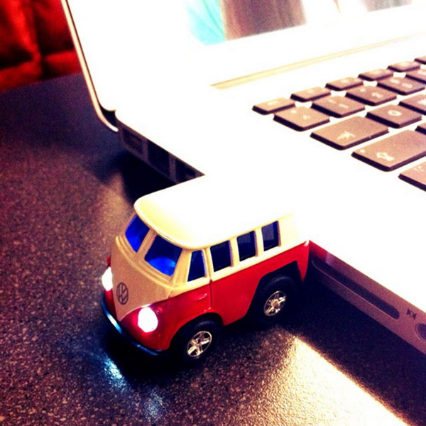 флешка-автобус
