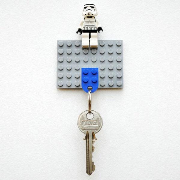 ключница из лего