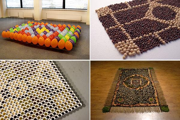 обзор необычных ковров