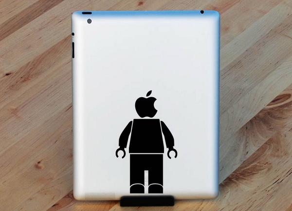 человек с яблоком вместо головы