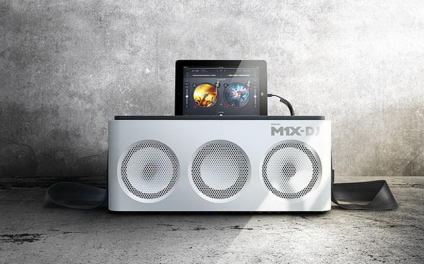 Philips M1X-DJ: DJ контроллер и звуковая система
