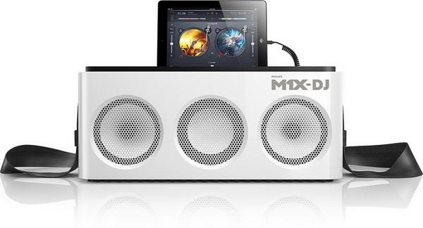 Philips M1X-DJ: звуковая система и DJ контроллер в одном флаконе