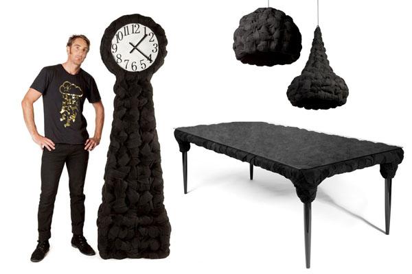 Коллекция мебели Woven из вязаного войлока