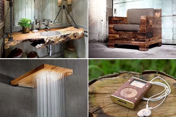 Обзор самых оригинальных изделий из дерева