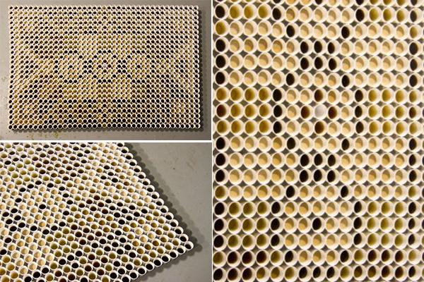 Коллекция оригинальных ковров из стаканчиков