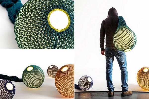 Коллекция трикотажных ламп