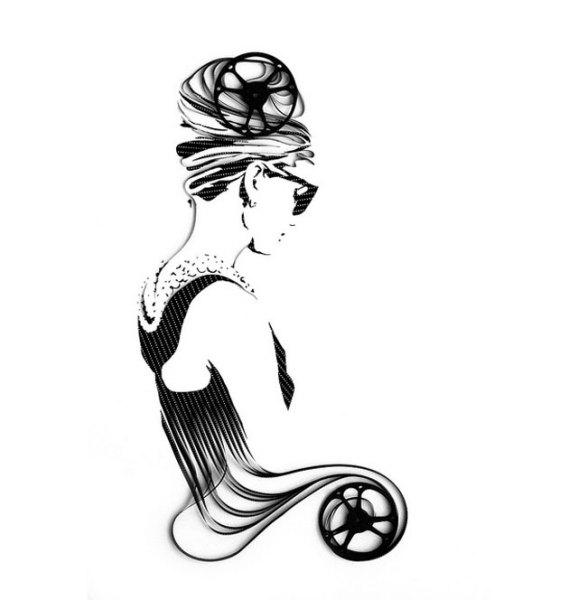 Картина из 8-мм лент