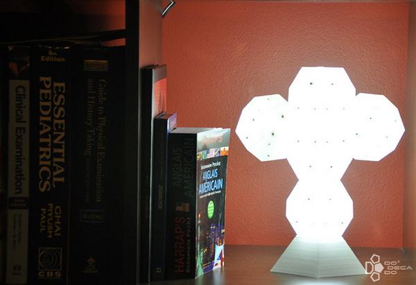 Светильник-конструктор Dodecado: создай скульптуру, наполненную светом