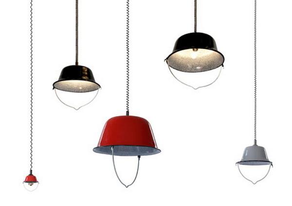 Подвесной светильник на пружине BOGRACS
