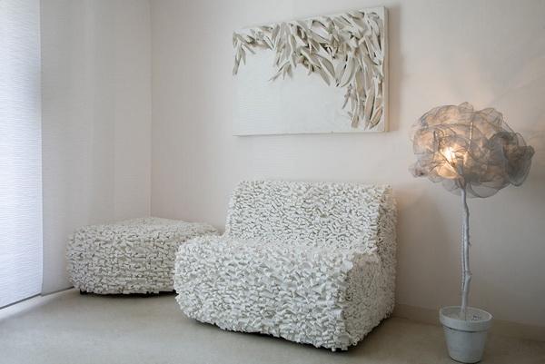 Коллекция мебели Ricrea из отходов