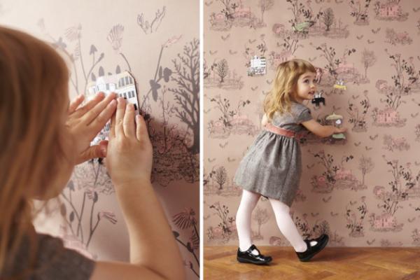 Магнитные обои для детской комнаты от Sian Zeng