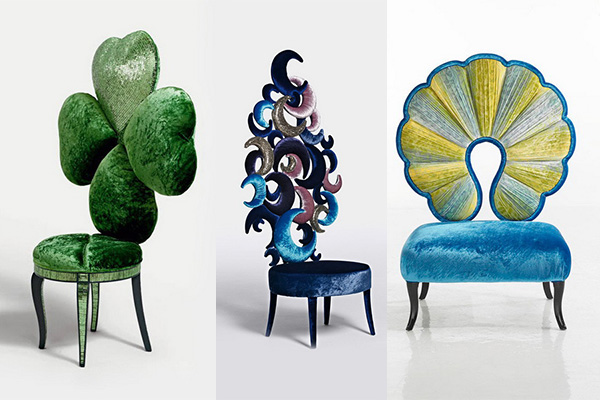 коллекция мебели от компании  Sicis