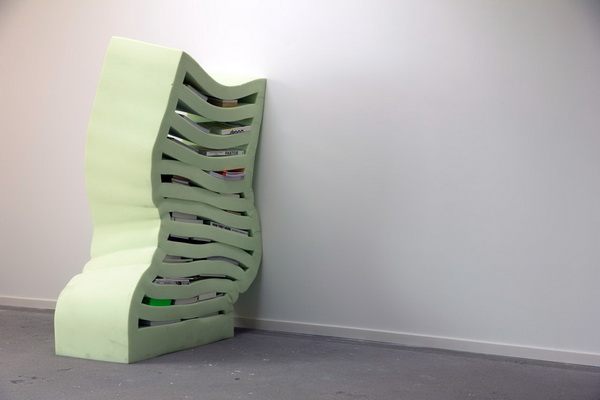 Мягкий шкаф от Studio Dewi van de Klomp