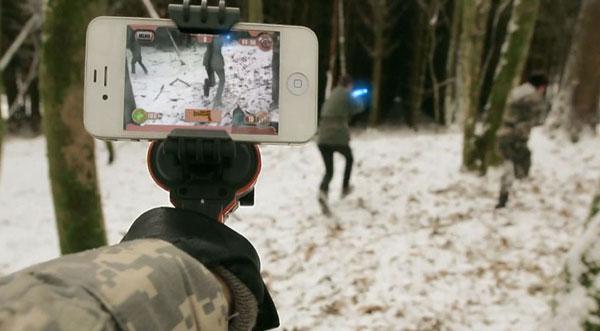 AppTag подключается к камере смартфона