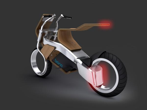 Концепт экологичного мотоцикла Biona