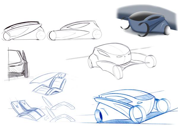 Ранние рисунки и чертежи Venture