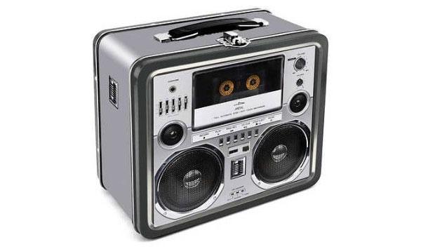 коробка для обеда - кассетный магнитофон