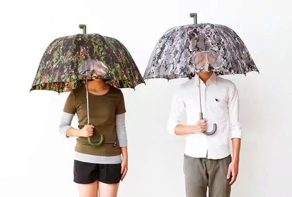 Camouflage Goggles Umbrella - яркий и удобный зонт от 25togo