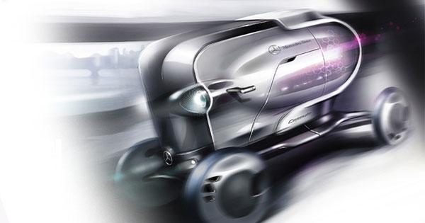 Концепт Mercedes-Benz Capsule
