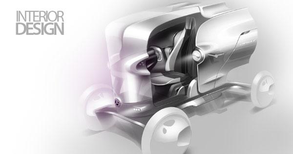 Дизайн интерьера Mercedes-Benz Capsule