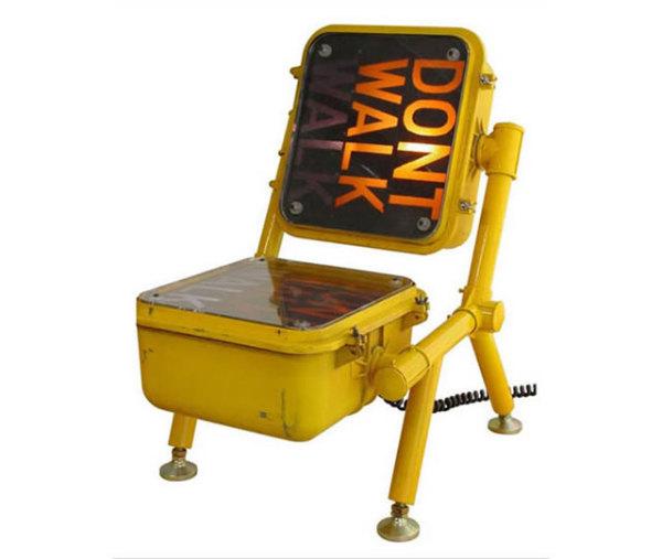 кресло из ламп